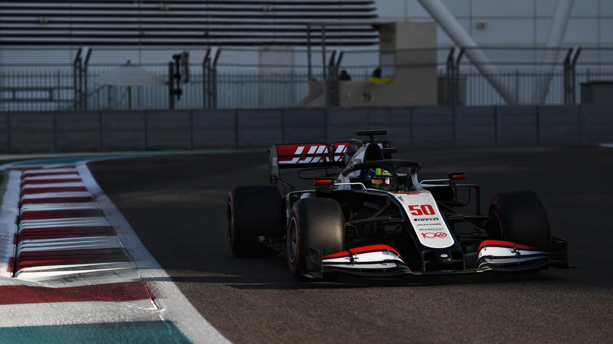 Mick Schumacher (Haas) in Abu Dhabi