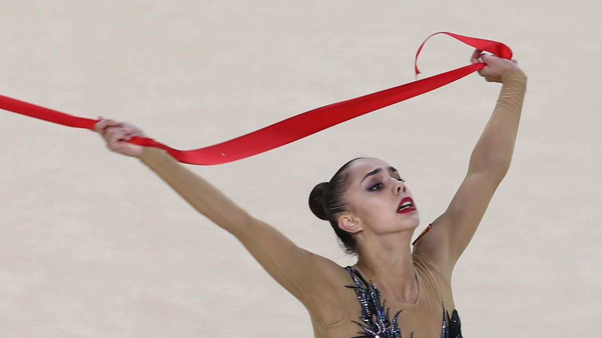 On the record for 100 Days to go: Margarita Mamun Rio 2016 All-Around final routine