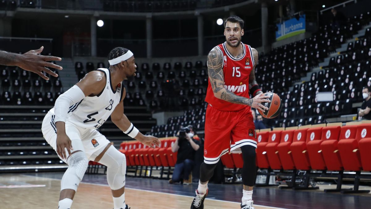 Printezis e Yabusele, Asvel-Olympiacos, Euroleague 2020-21