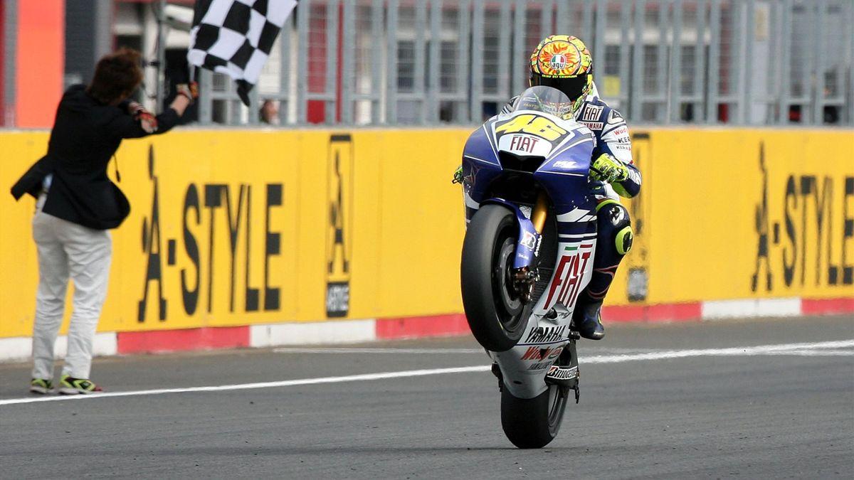 Valentino Rossi (Yamaha Factory) - Grand Prix of Japan 2008