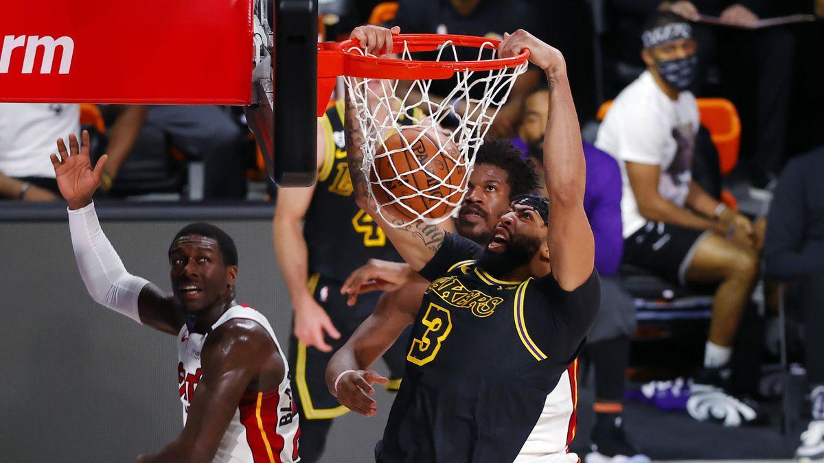 Anthony Davis, Lakers-Heat, NBA Finals 2020 gara 2