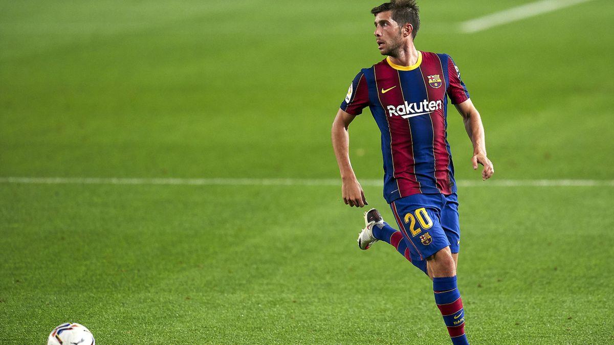 Vers quatre semaines d'absence pour Sergi Roberto (FC Barcelone).