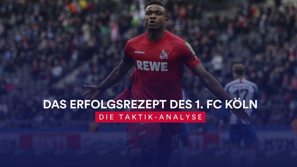 Taktik-Analyse 1. FC Köln (Jhon Cordoba)