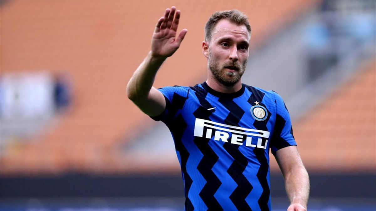 Christian Eriksen of Inter Milan