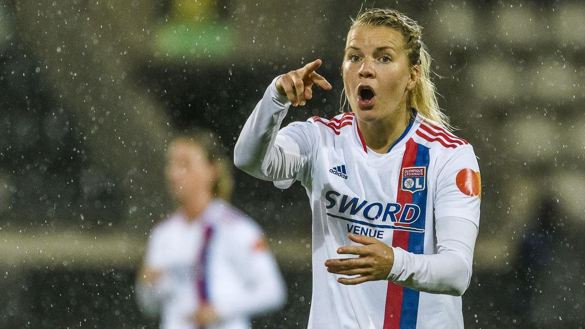 Ada Hegerberg of Olympique Lyonnais