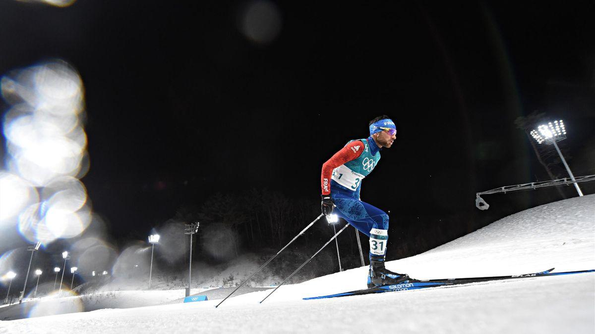 Jason Lamy Chappuis lors des JO de Pyeongchang