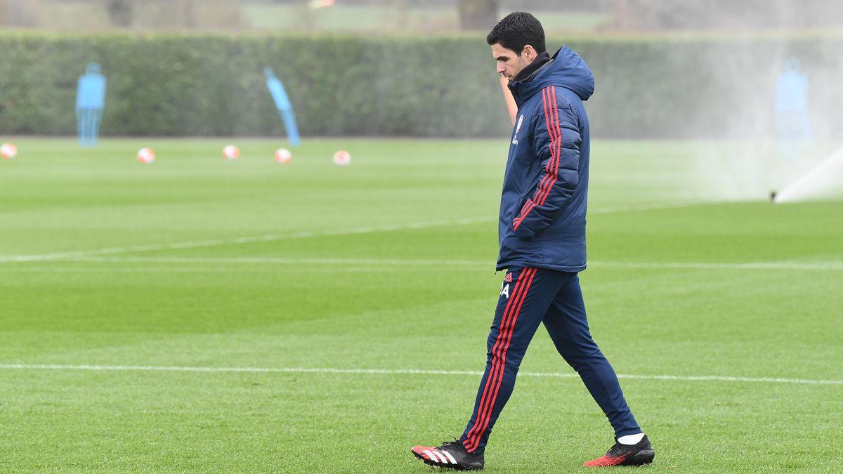 Mikel Arteta, managerul lui Arsenal