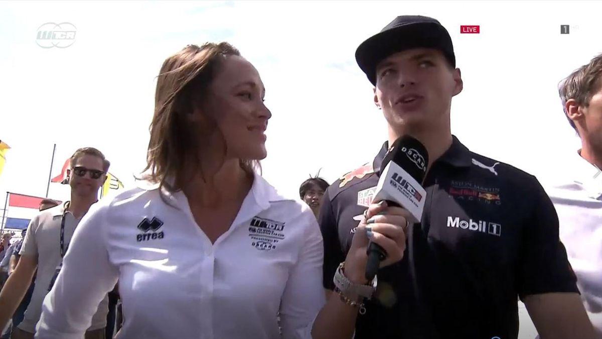 Max Verstappen bij WTCR in Zandvoort