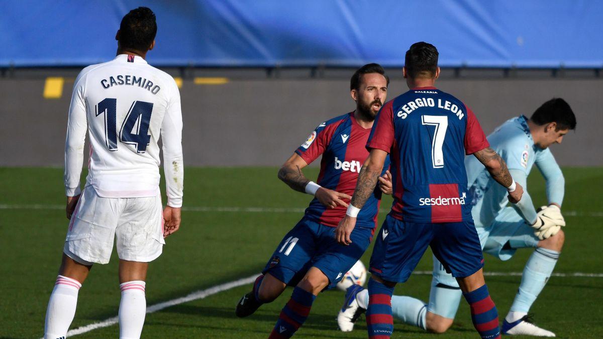 Levante, vainqueur surprise du Real Madrid