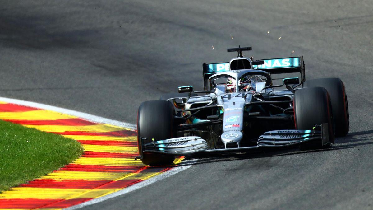 Lewis Hamilton (Mercedes) - GP of Belgium 2019