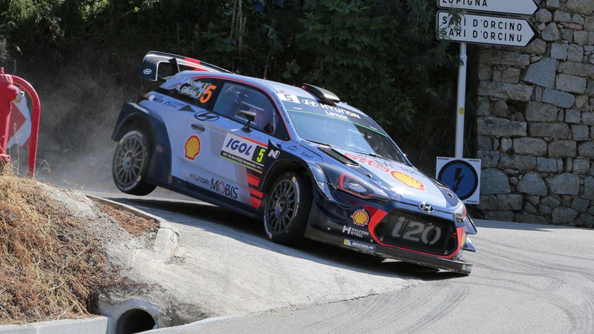 Thierry Neuville feiert ersten Saisonsieg für Hyundai