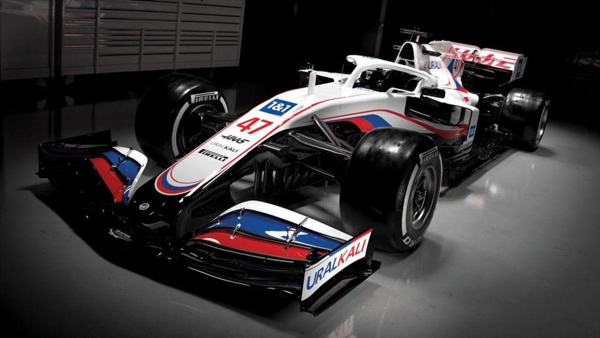 La Haas VF-21, monoplace de la saison 2021