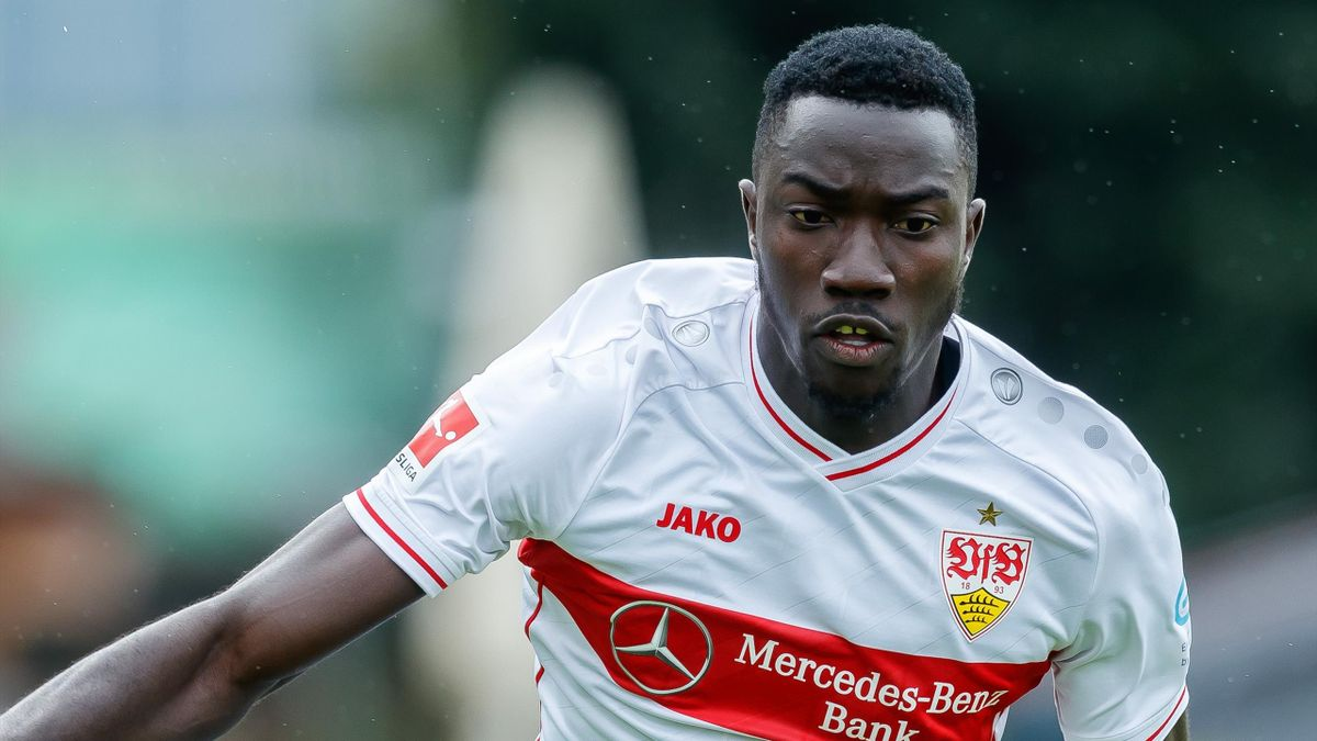Silas Katompa Mvumpa vom VfB Stuttgart wurde vom DFB für drei Monate gesperrt