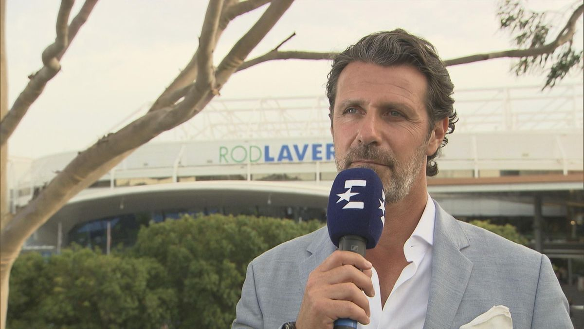 Australian Open - Patrick MOURATOGLOU interview