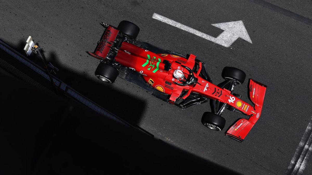 Charles Leclerc (Ferrari) - GP of Azerbaidjan 2021