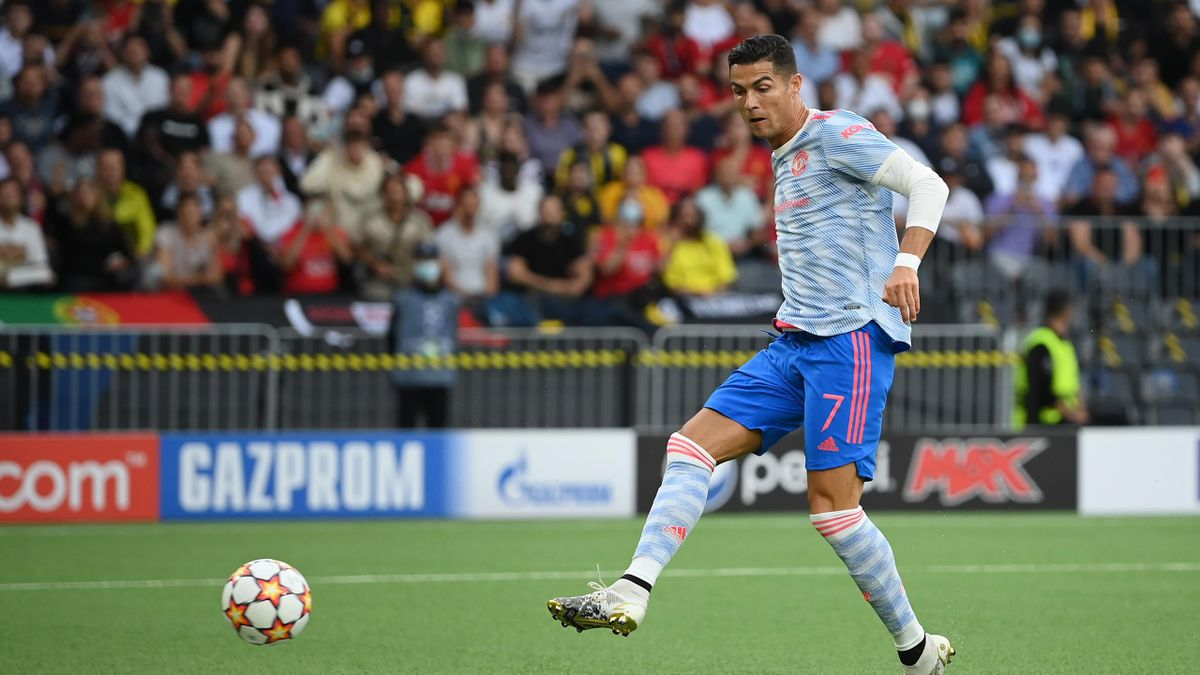 Cristiano Ronaldo, buteur face au Young Boys de Berne