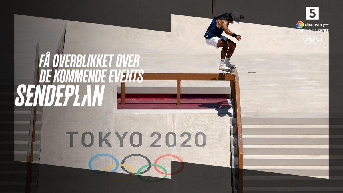 Se alle øjeblikke fra OL på discovery+.