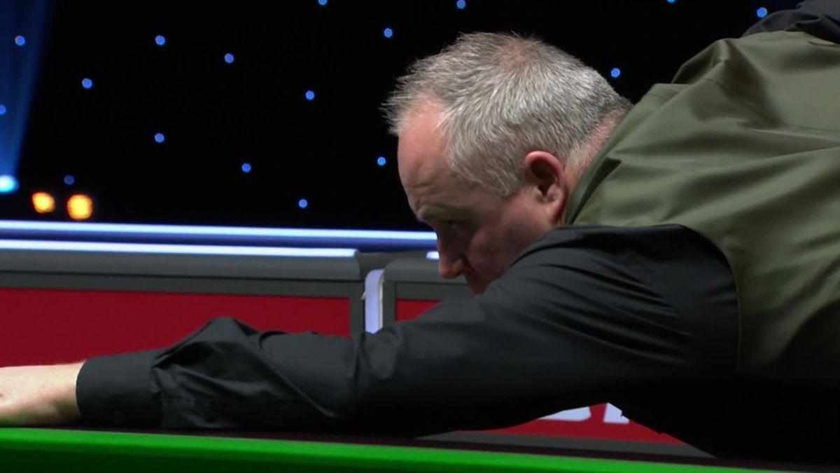 Snooker The Masters: John Higgins nice pot on blue in frame 10