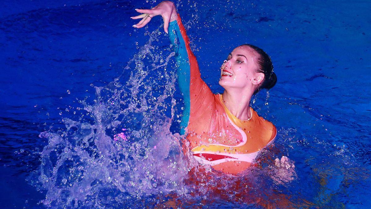 Alla Shishkina aus Russland triumphierte bereits zwei Mal bei Olympia
