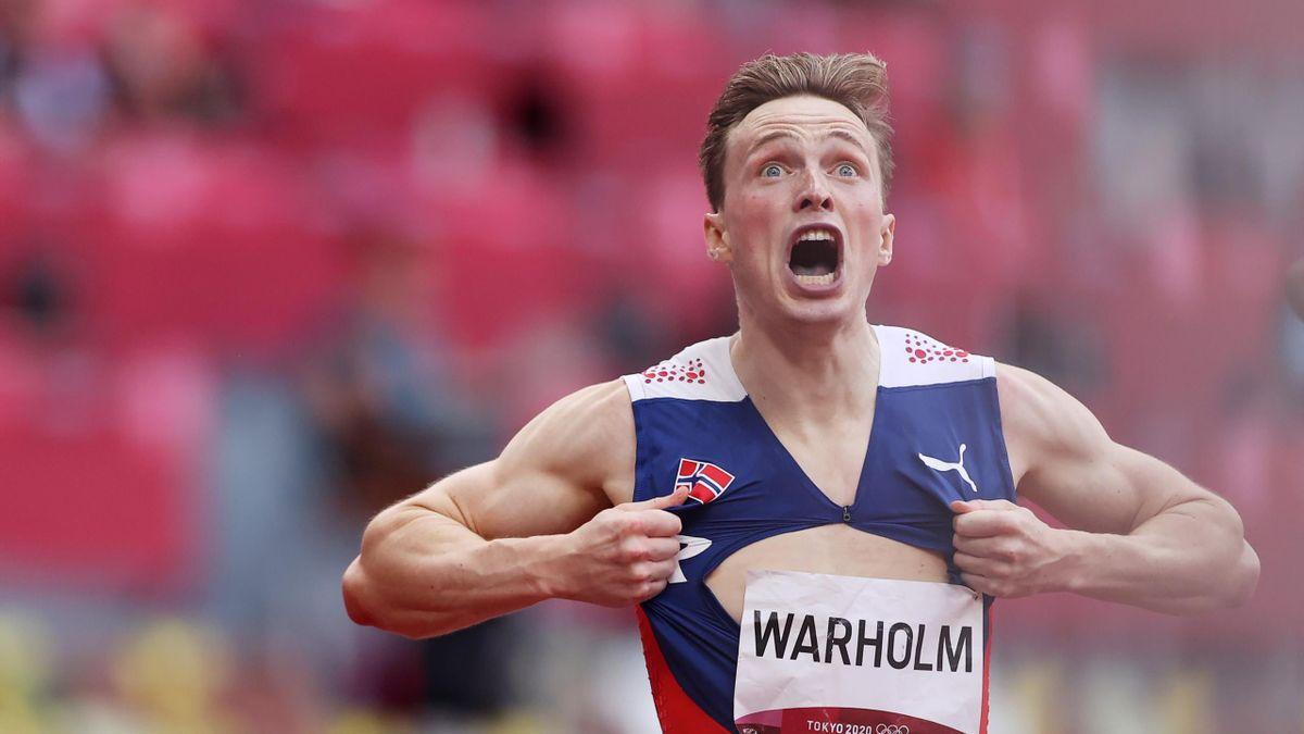 Karsten Warholm stürmt mit Wahnsinns-Weltrekord zu Hürden-Gold