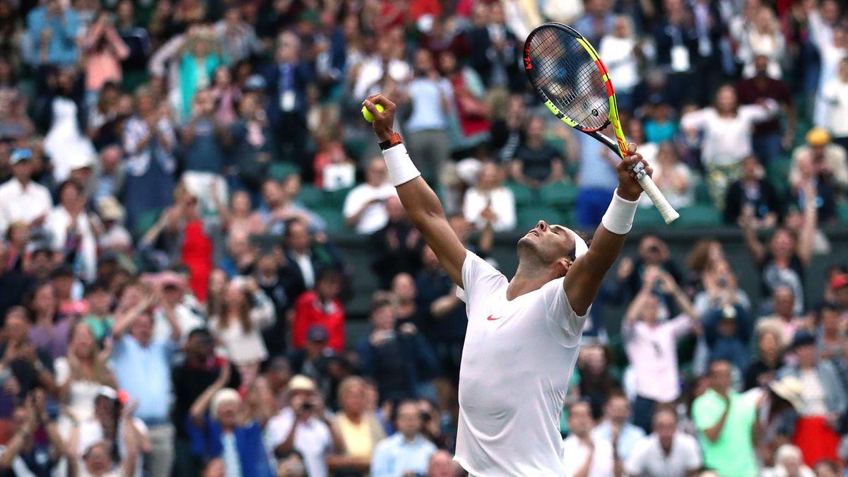 Rafael Nadal Wimbledon 2018