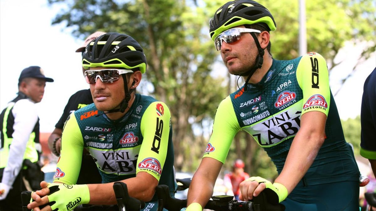 Leonardo Tortomasi e Mattia Bevilacqua al Tour de Langkawi 2020 - Getty Images
