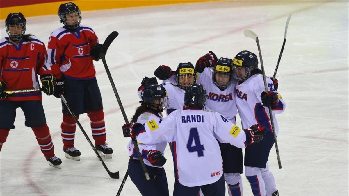 Park Ye-Eun - South Korea-North Korea - Women's world ice hockey championships division 2017 - Getty Images