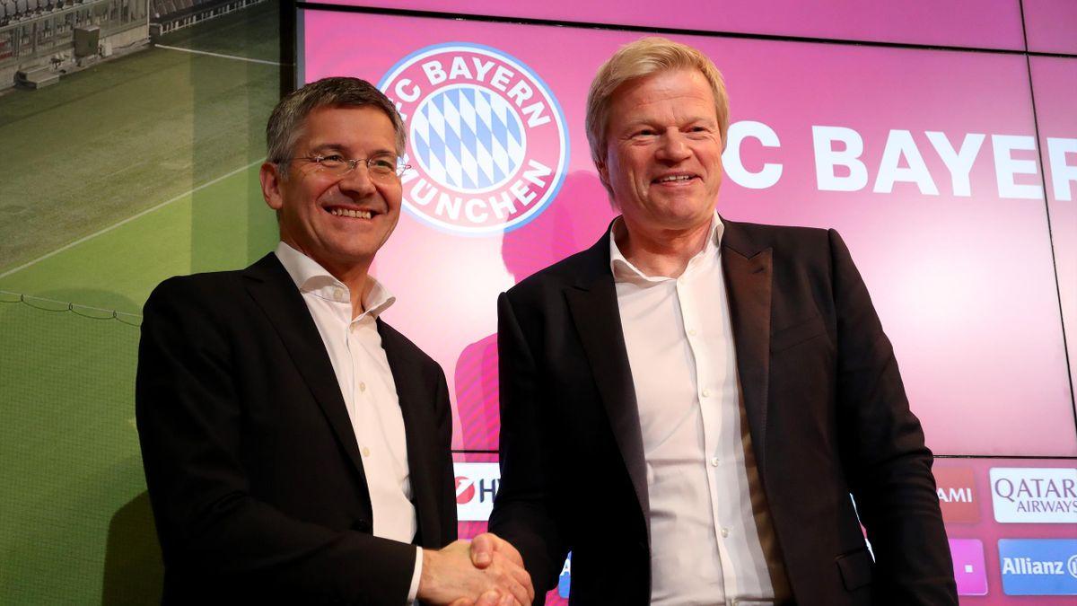 FC Bayern München | Präsident Herbert Hainer schlägt Oliver Kahn für Task Force vor - Eurosport