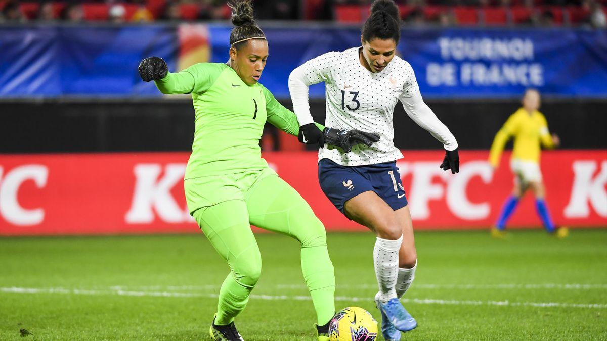 Valérie Gauvin (France) contre le Brésil