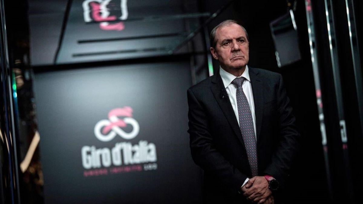 Mauro Vegni - Giro d'Italia 2020 - Getty Images