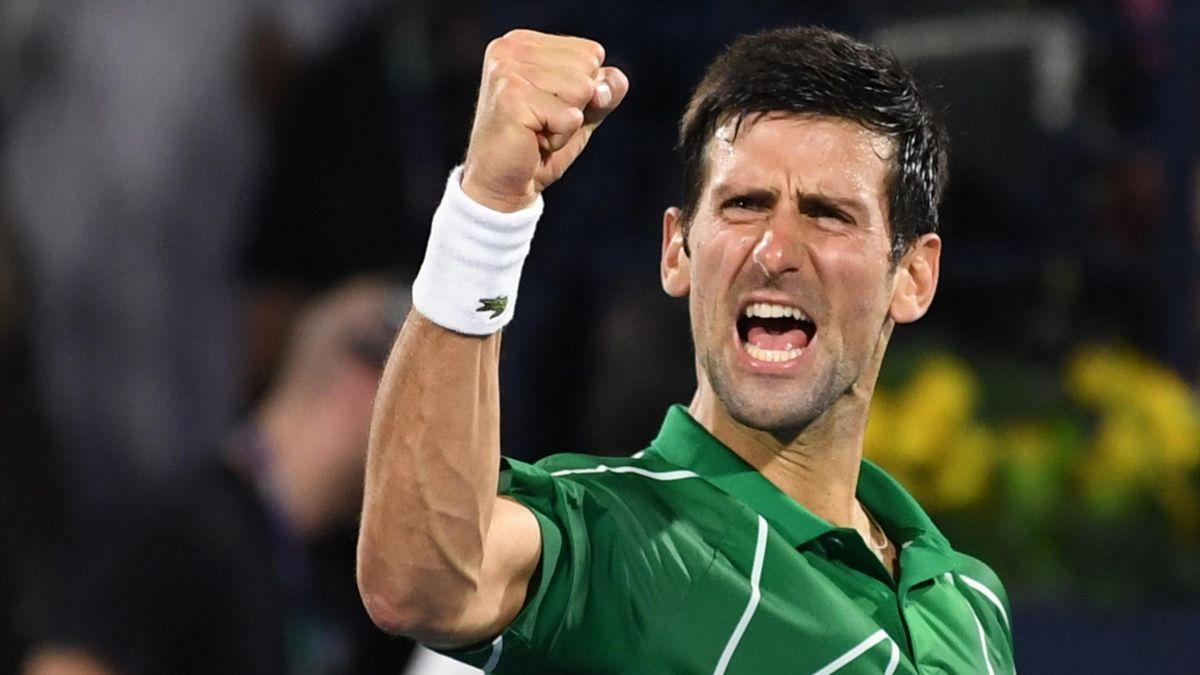 Novak Djokovic (ATP Dubái 2020)