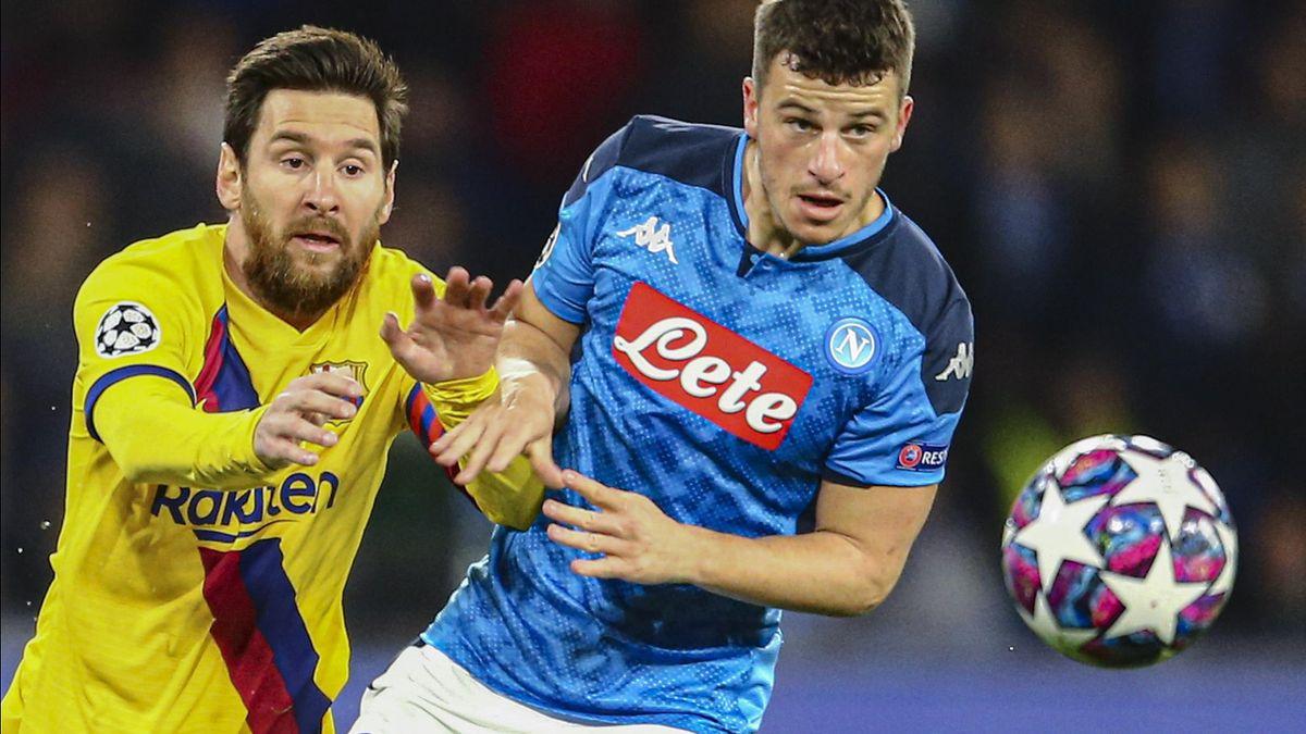 Meciul dintre Barcelona - Napoli s-ar putea muta din spania