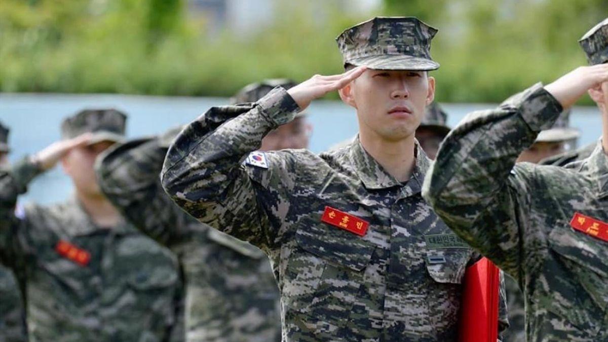 Heung-Min Son a încheiat cu succes stagiul militar din Coreea de Sud
