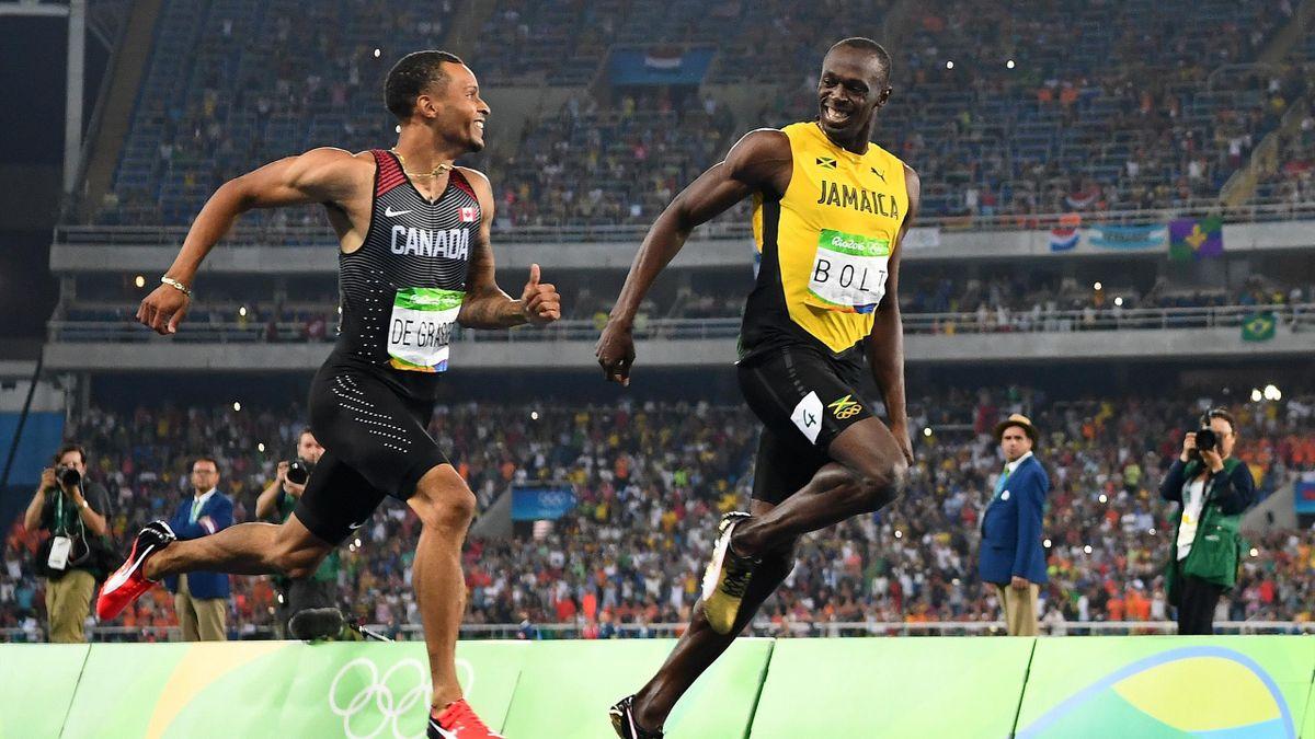 Usain Bolt és Andre De Grasse