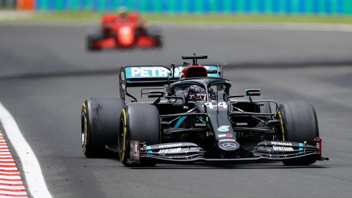 Lewis Hamilton, victorie la Hungaroring