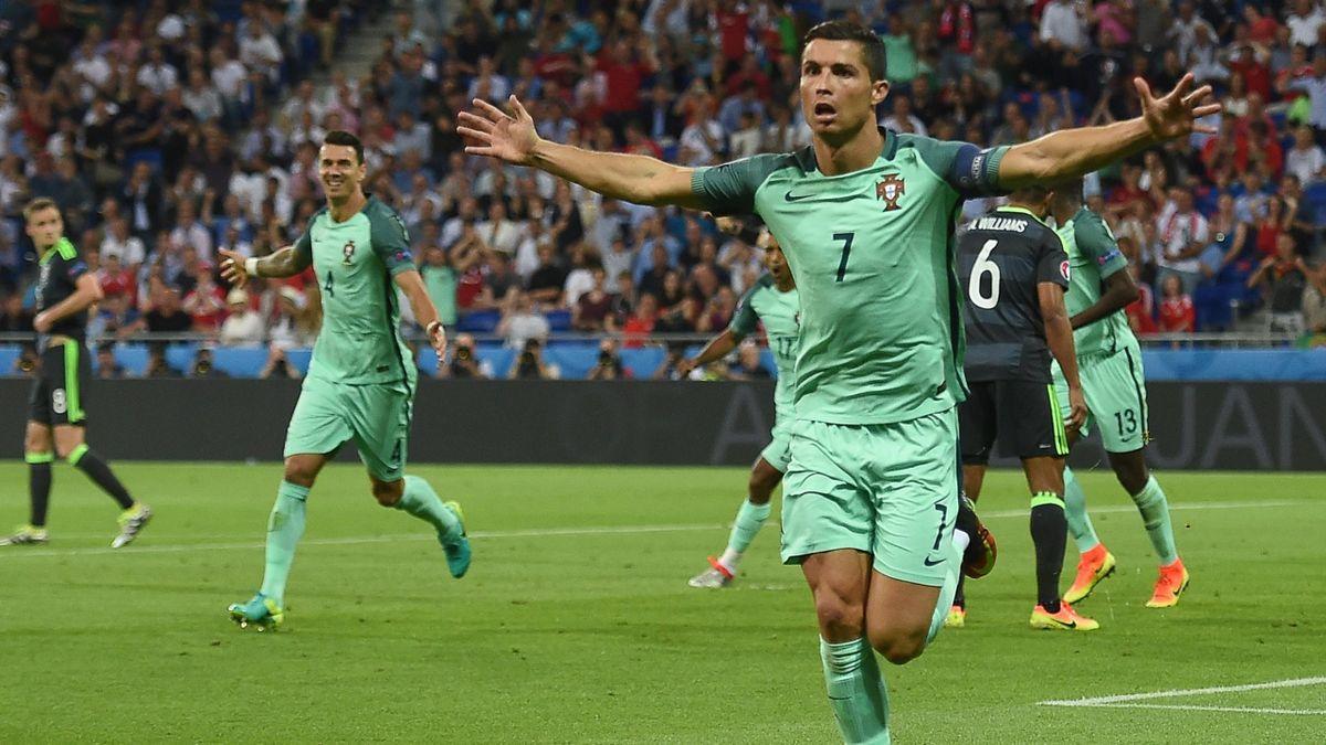 Cristiano Ronaldo et le Portugal en finale de l'Euro 2016