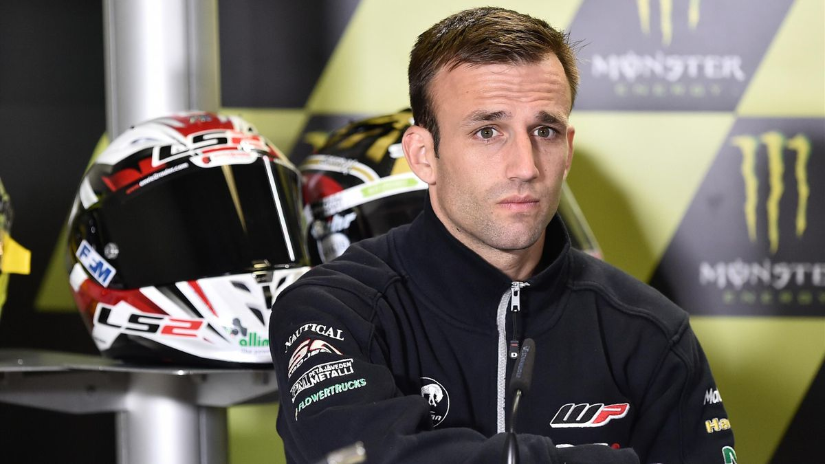 Johann Zarco au Grand Prix de France 2016