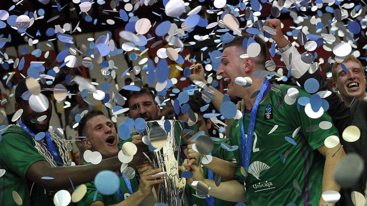 Unicaja Málaga, campeón de la Eurocup 2017