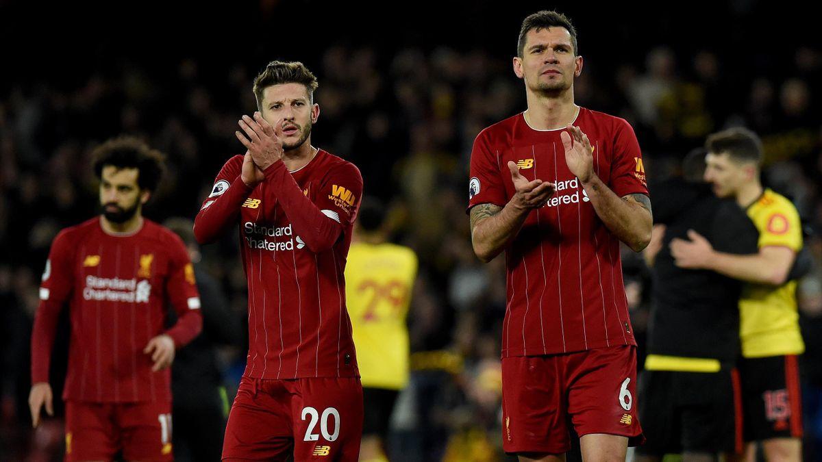Adam Lallana (l.) und Dejan Lovren (r.) verlassen nach sechs Jahren den FC Liverpool