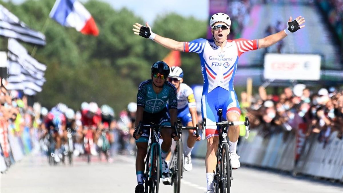 Arnaud Démare vince i campionati nazionali francese 2020