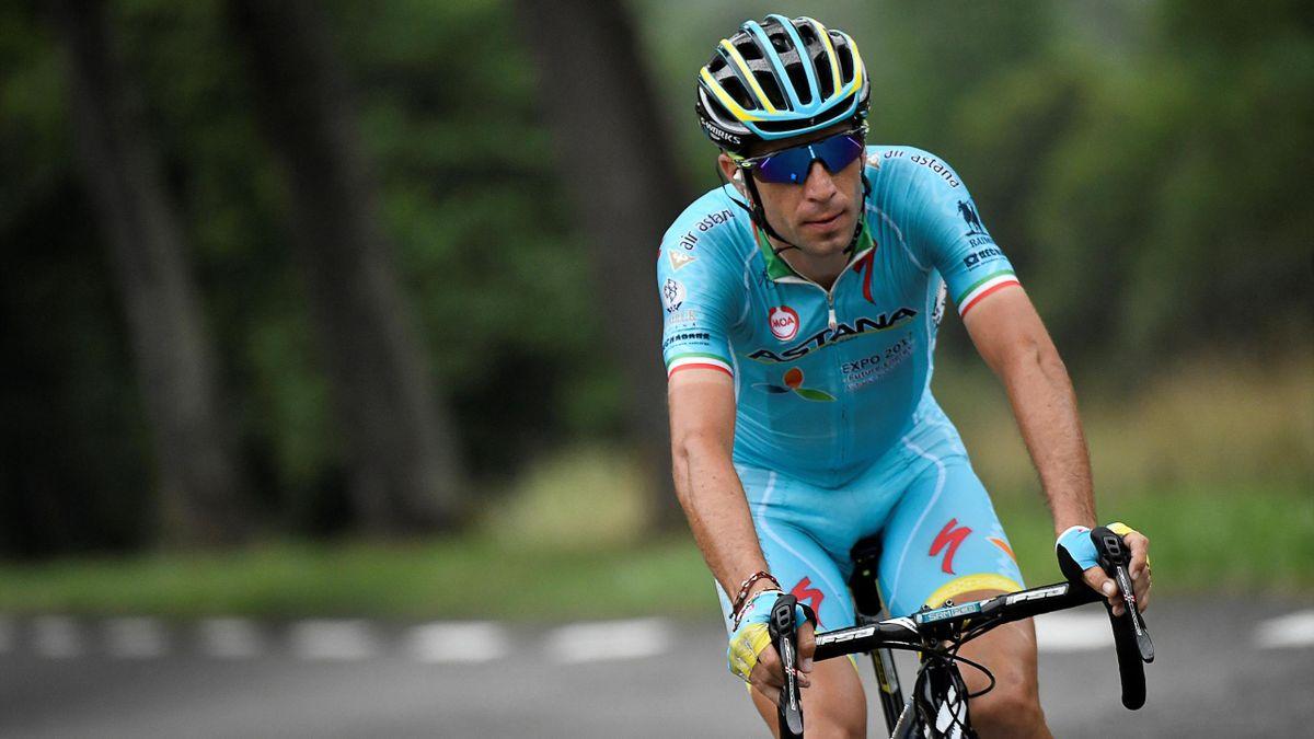 Vincenzo Nibali (Astana) lors de la 7e étape du Tour 2016