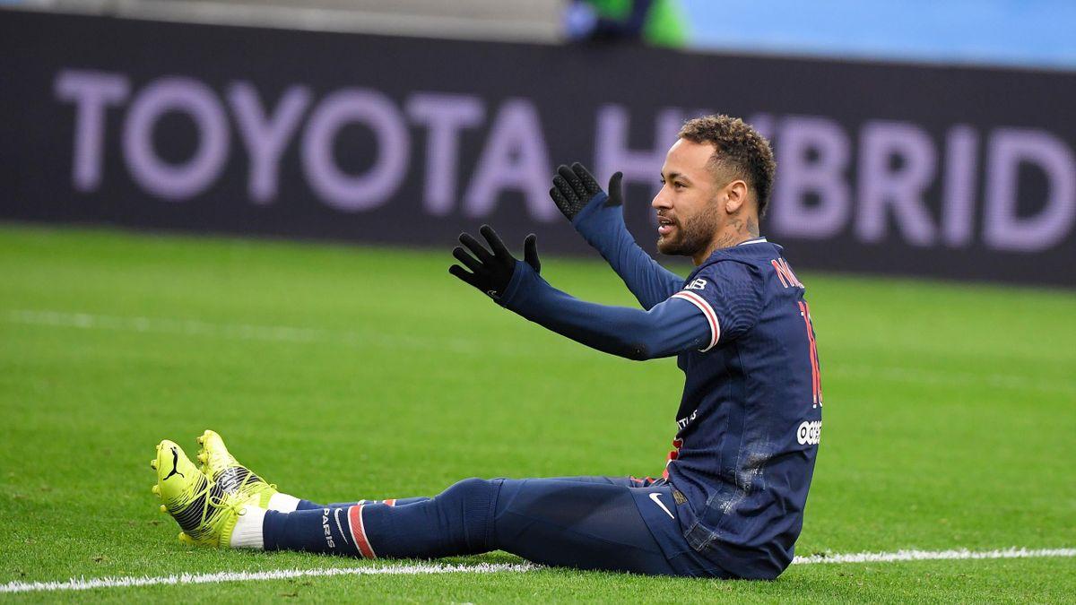 Neymar, atacantul lui PSG