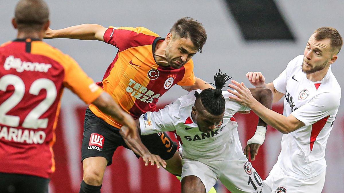 Galatasaray - Gaziantep s-a terminat 3-3, după ce Maxim a egalat în minutul 90+14