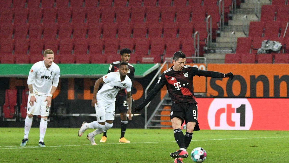Il rigore di Robert Lewandowski, Augusta-Bayern Monaco