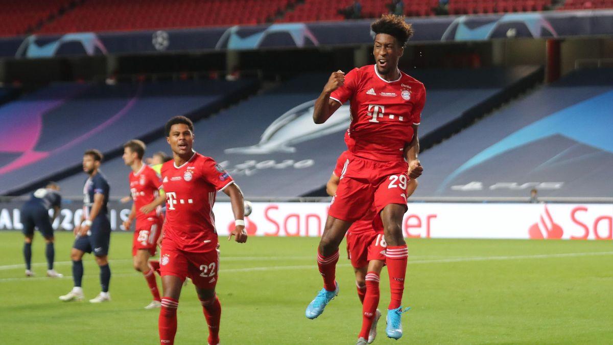 Kingsley Coman a marcat golul decisiv pentru Bayern Munchen