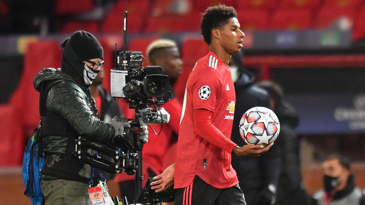 Marcus Rashford scored his first Man Utd hat-trick on Wednesday night