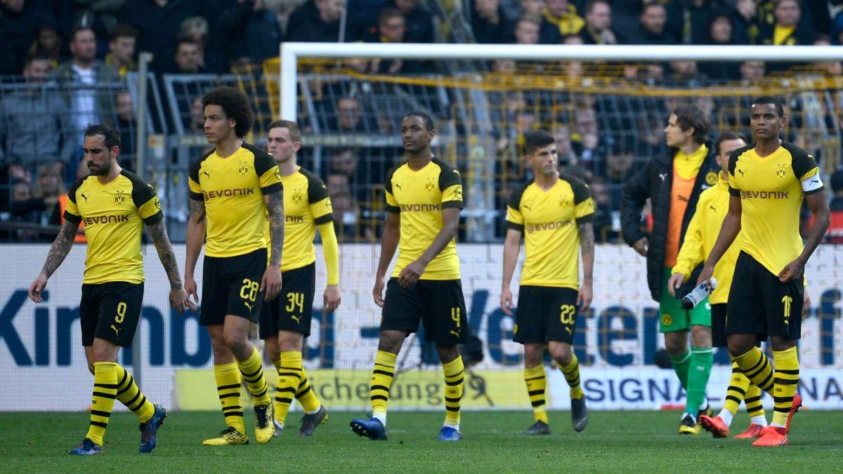 Borussia Dortmund nach der Derbypleite gegen Schalke