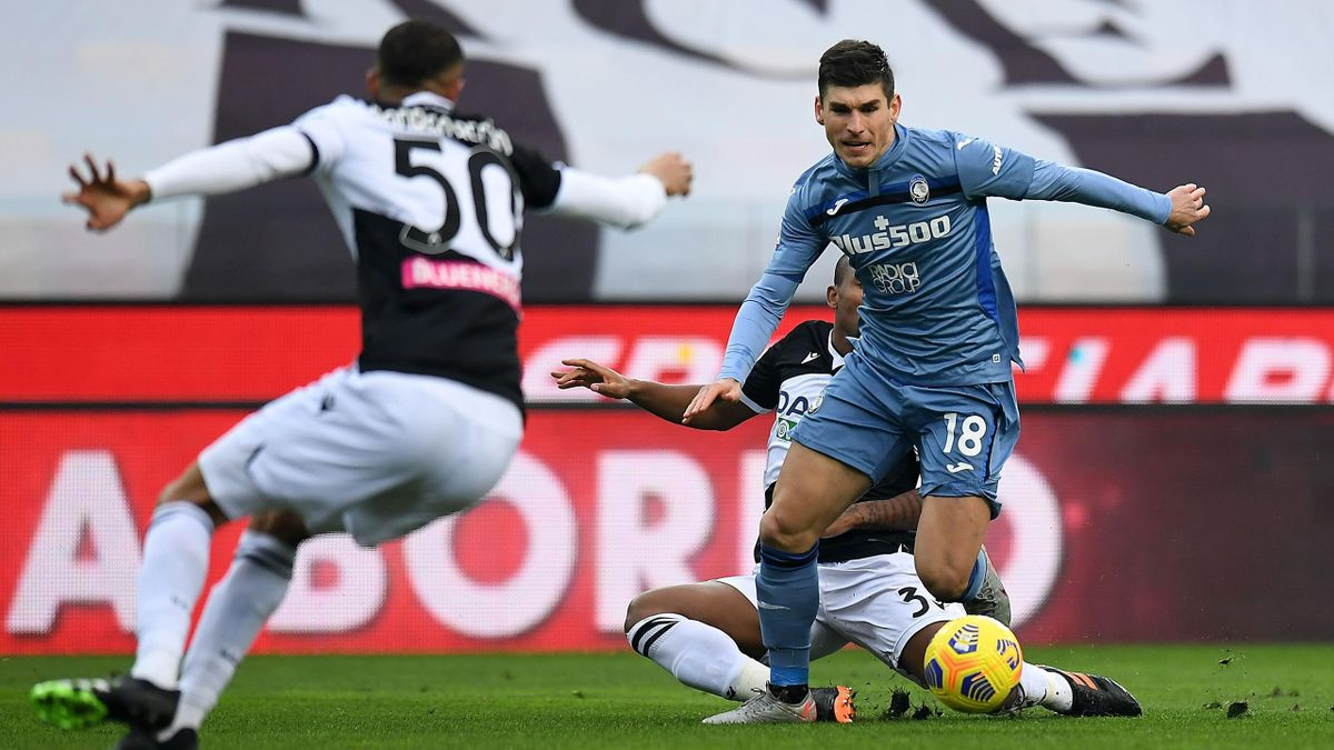 Ruslan Malinovskyi, Udinese-Atalanta
