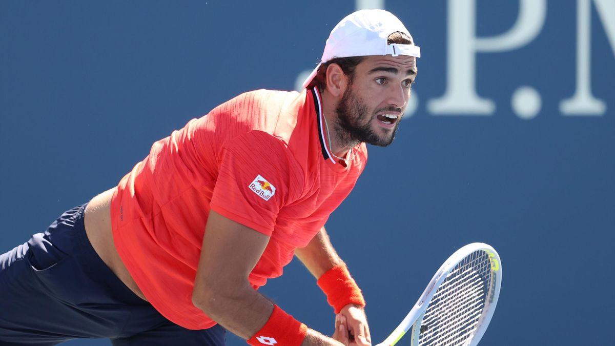 Matteo Berrettini a defilat până acum la US Open 2020