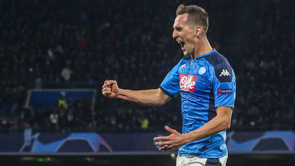 Milik - Napoli-Parma - Serie A 2019/2020 - Getty Images